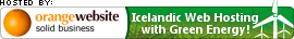 OrangeWebsite.com - Green Web Hosting Servers in Iceland